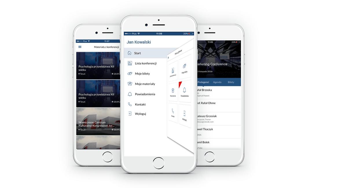 Tickerence – konferencyjna aplikacja mobilna