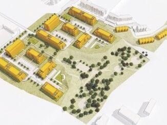 Projekt osiedla SM Chełm w Gdańsku