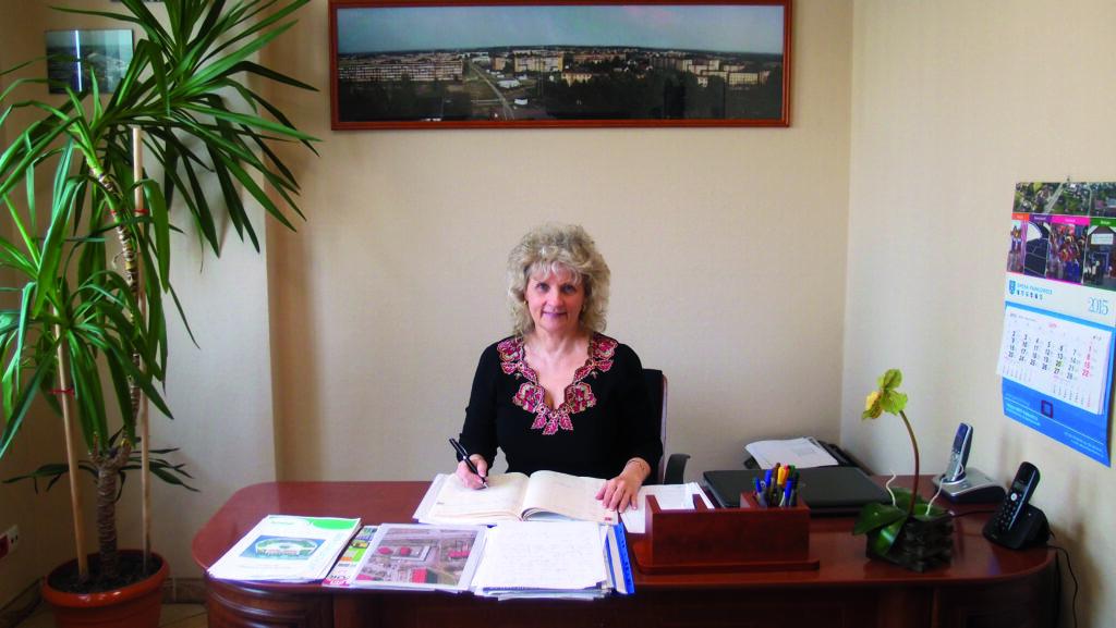 Anna Dąbrowska, Prezes Spółdzielni Mieszkaniowej Pawłowice
