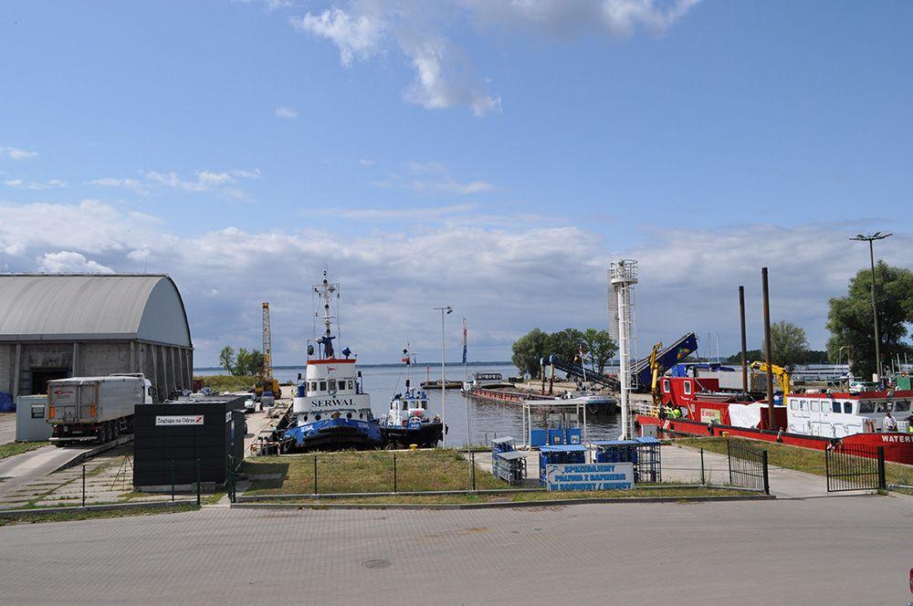 Stepnica – miasto portowe