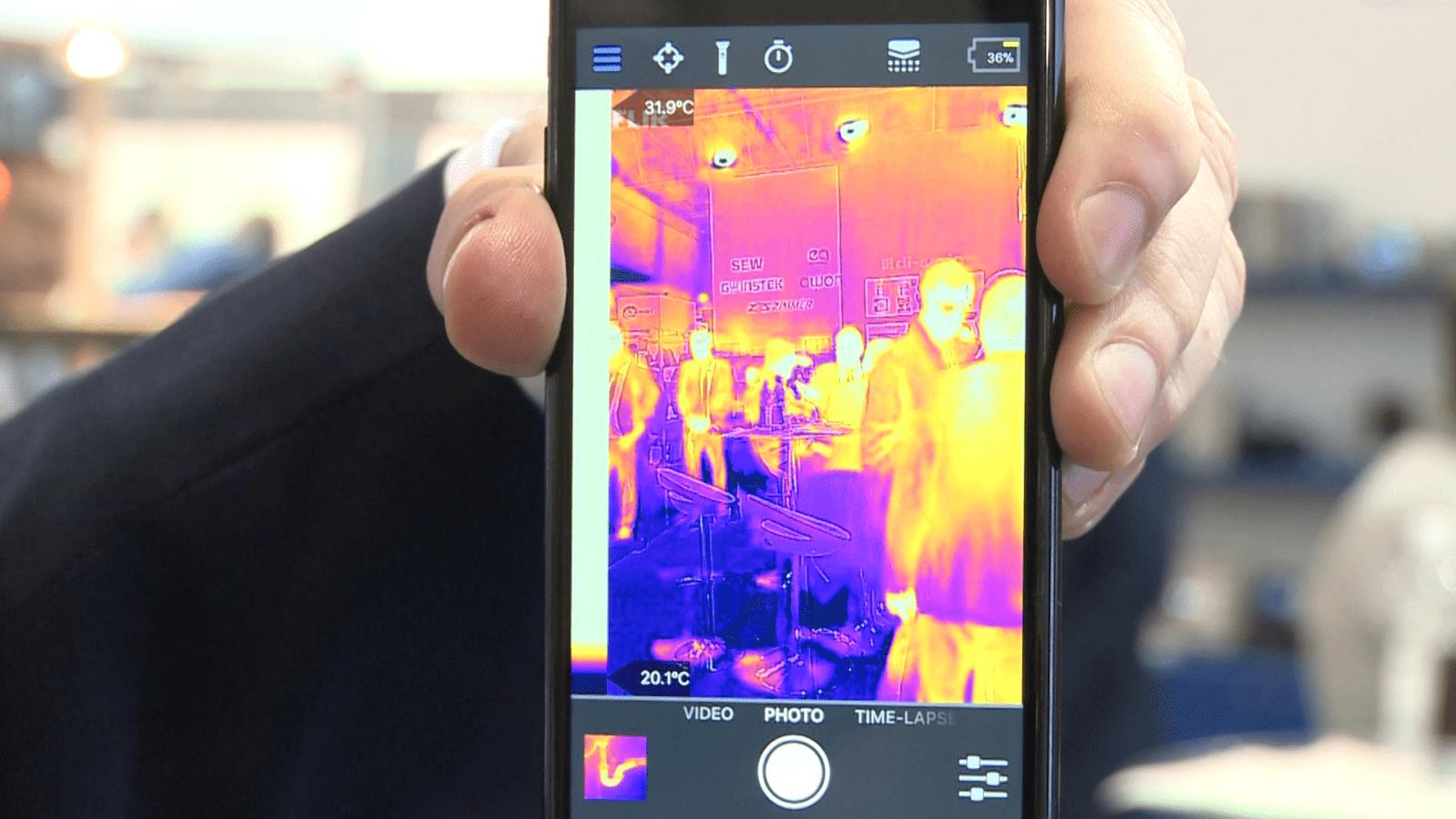 Kamery termowizyjne wspierane przez sztuczną inteligencję wykryją objawy koronawirusa. Dzięki nim testy mogą osiągnąć masową skalę