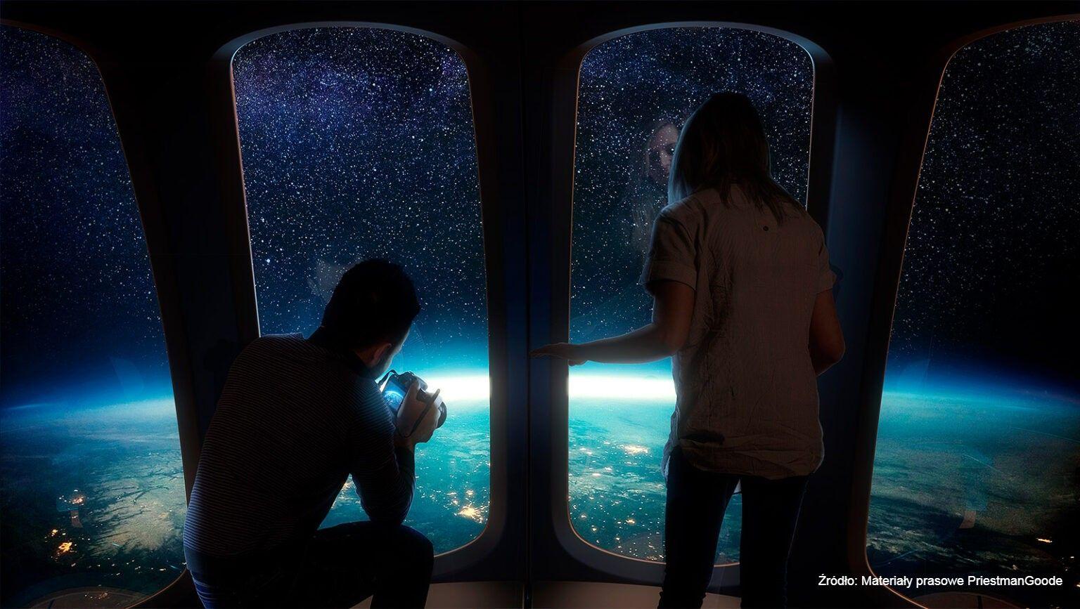 W kosmos polecimy balonem. Ziemię z wysokości ponad 30 kilometrów będzie można obejrzeć z kapsuły z widokiem 360 stopni