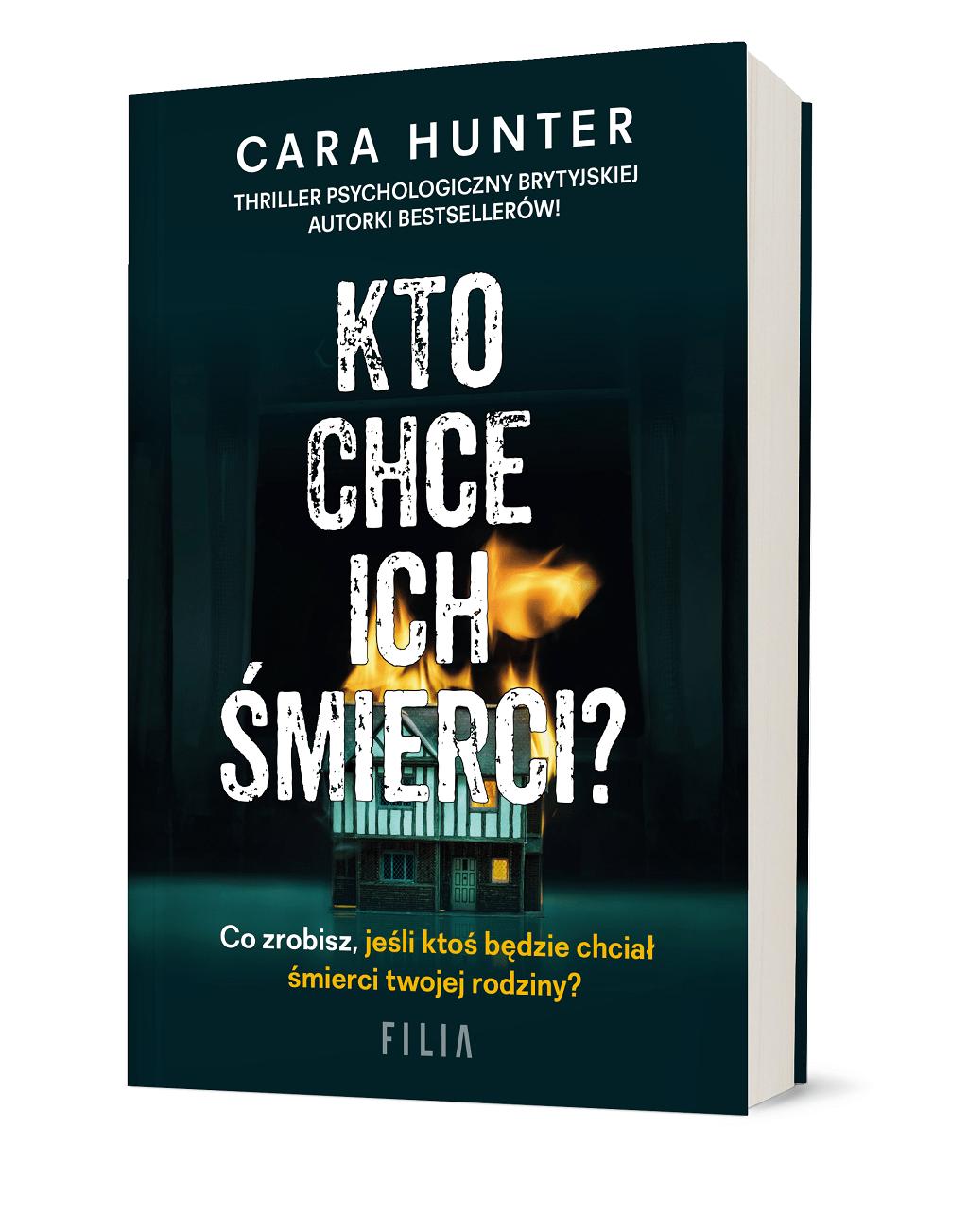 Cara Hunter – Kto chce ich śmierci?