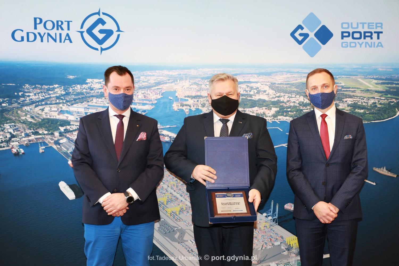 Zarząd Morskiego Portu Gdynia S.A. laureatem Symbolu 2020!