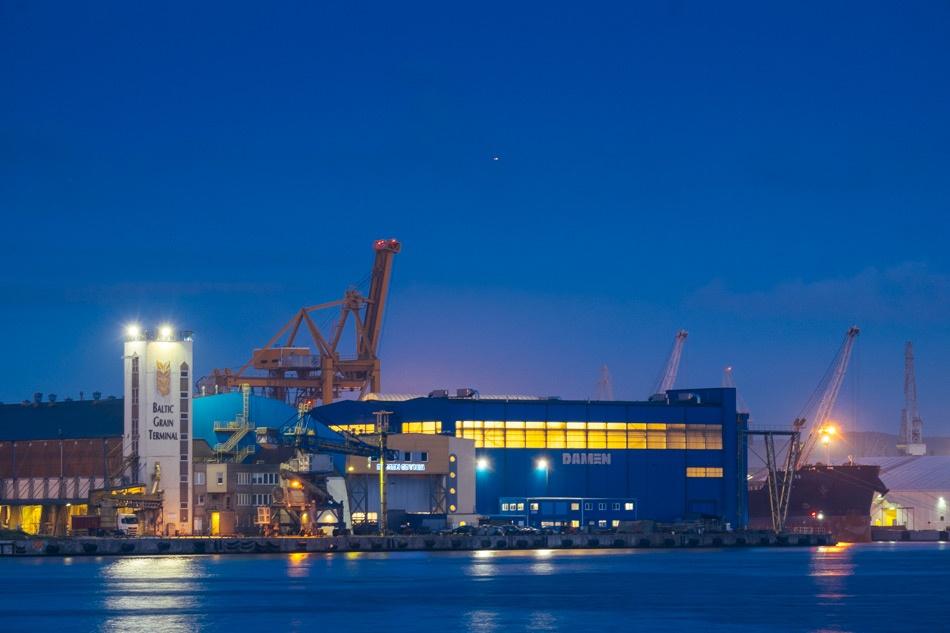 Przebudowane Zostanie Nabrzeże Norweskie W Porcie Gdynia