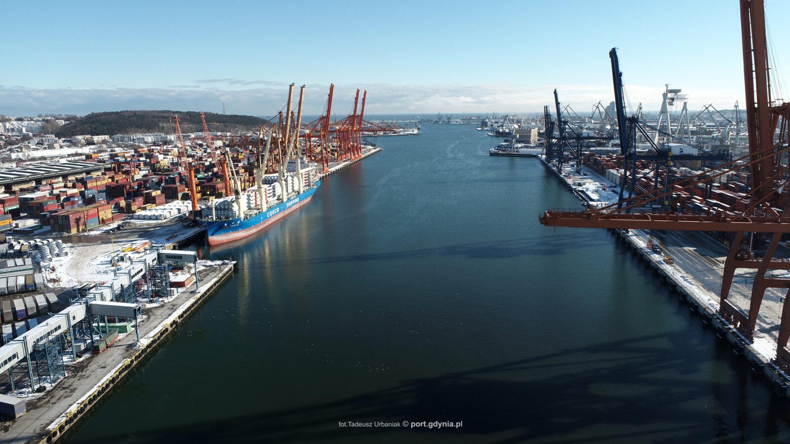 Fundusze norweskie płyną do Portu Gdynia!