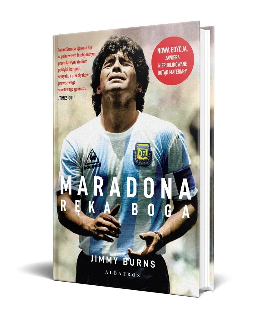 Jimmy Burns – Maradona. Ręka Boga