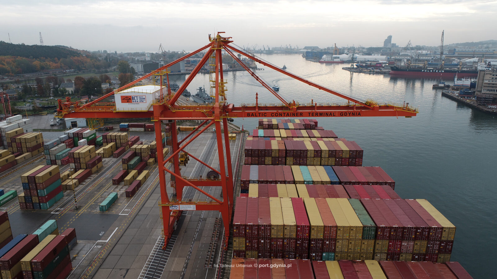 Rośnie eksport w transporcie morskim