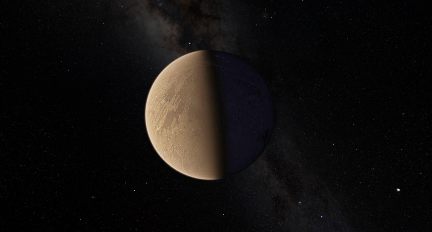 Ilość wody na Marsie może być równa połowie Oceanu Atlantyckiego. Według naukowców jest uwięziona w minerałach