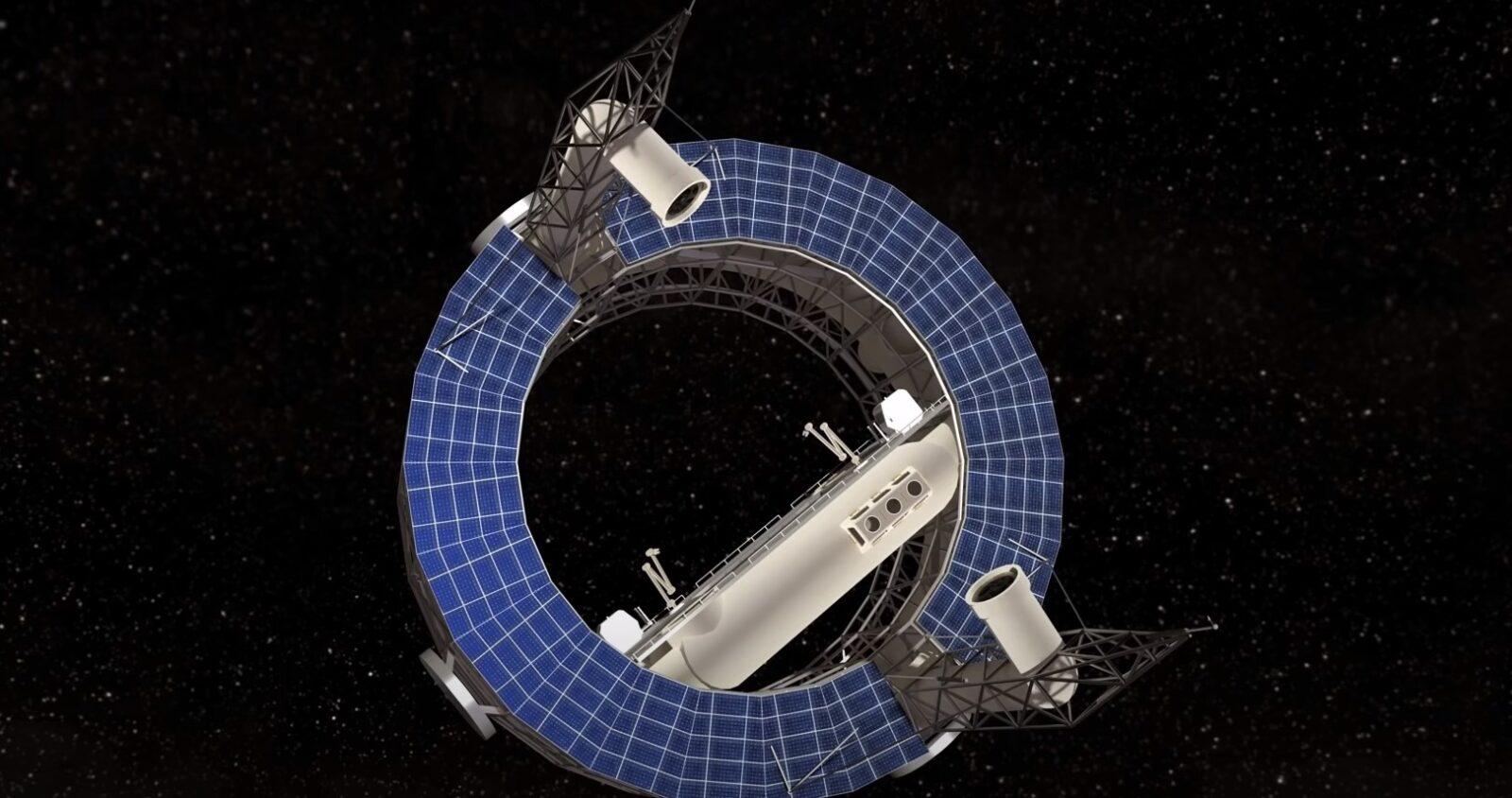 W 2025 roku ruszy budowa pierwszej prywatnej stacji kosmicznej. Amerykański start-up chce wytworzyć w kosmosie sztuczną grawitację
