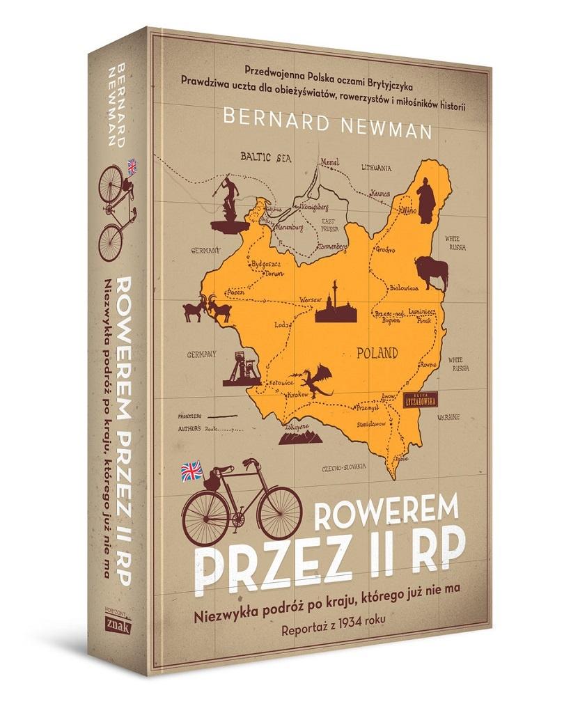 Bernard Newman – Rowerem przez II RP