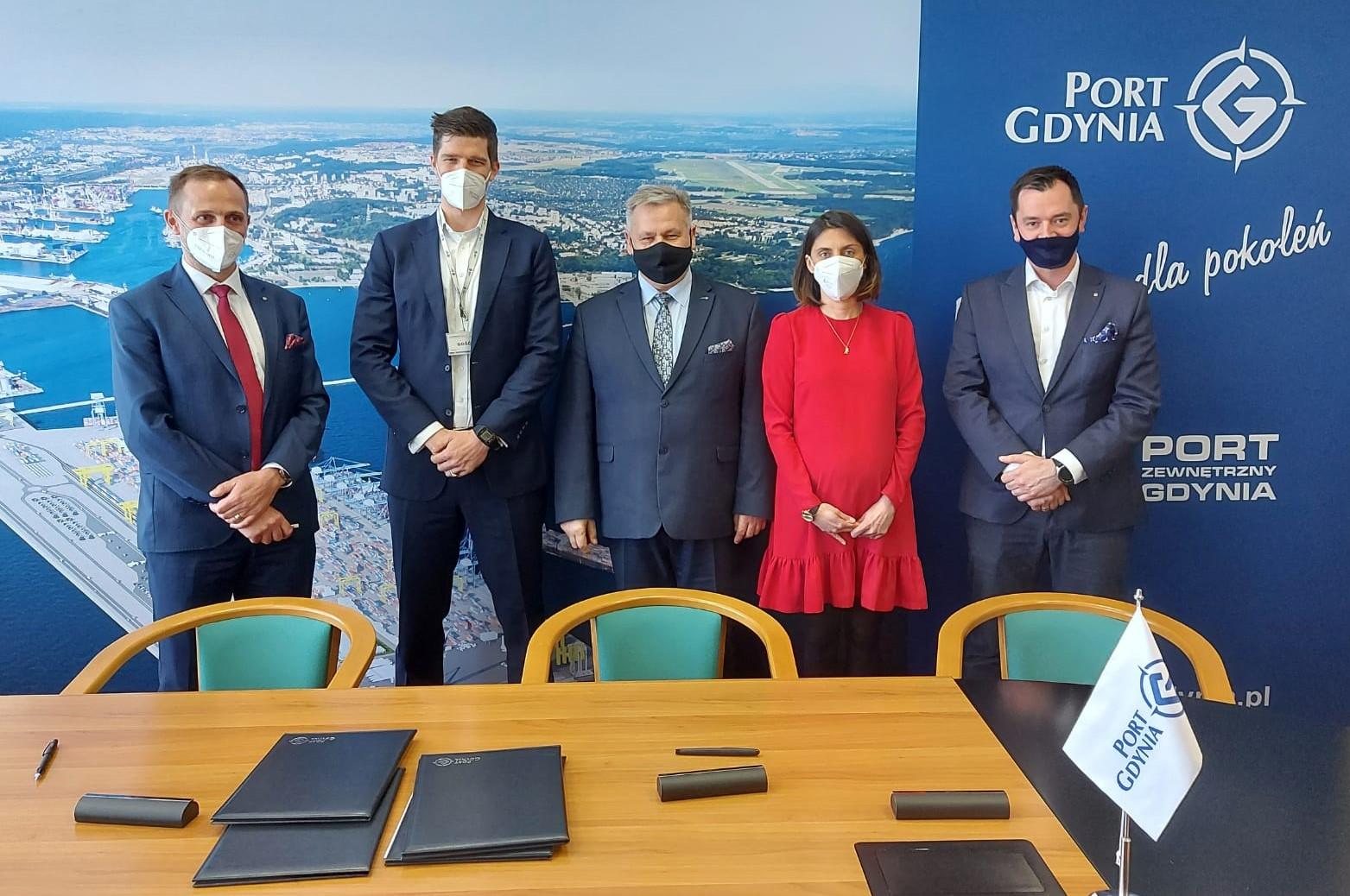 Podpisanie listu intencyjnego między Ørsted i Zarządem Morskiego Portu Gdynia S.A. – współpraca w przeddzień budowy polskich morskich farm wiatrowych