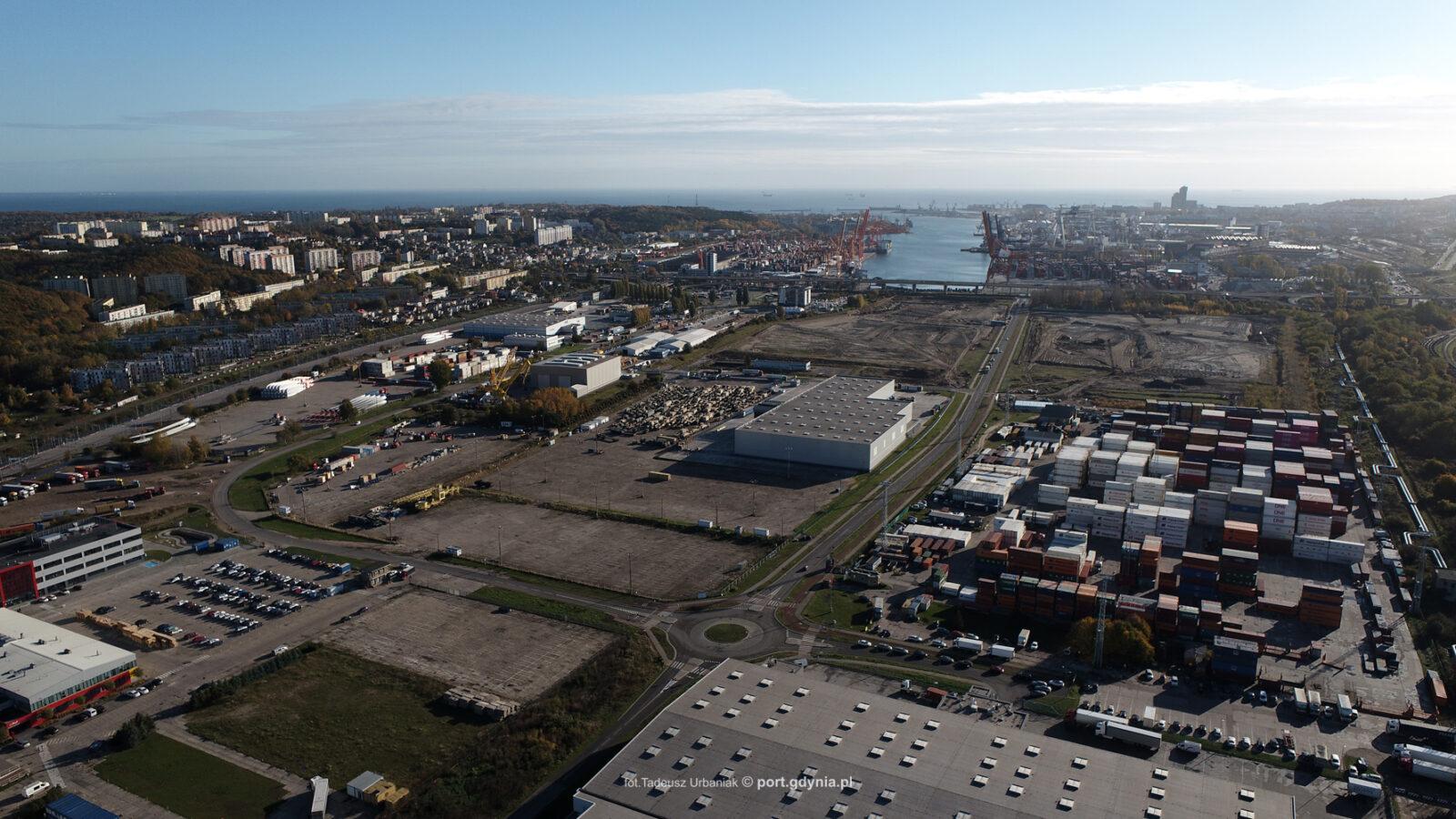 Inwestycje w Porcie Gdynia – szybciej, niż zaplanowano