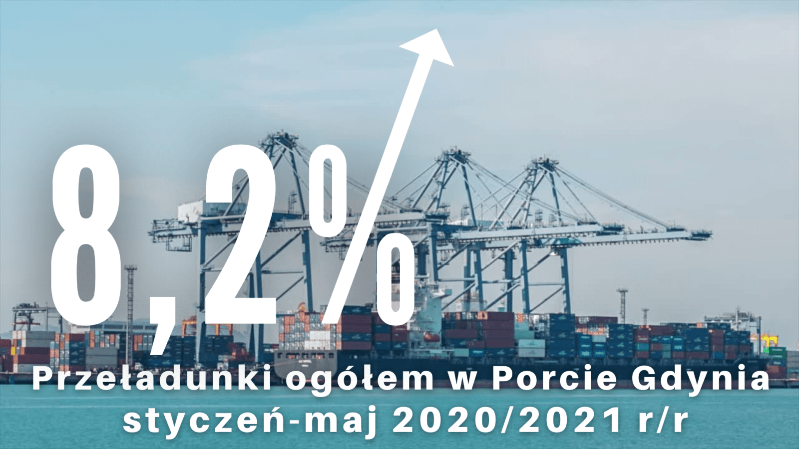 Wzrost eksportu w transporcie morskim