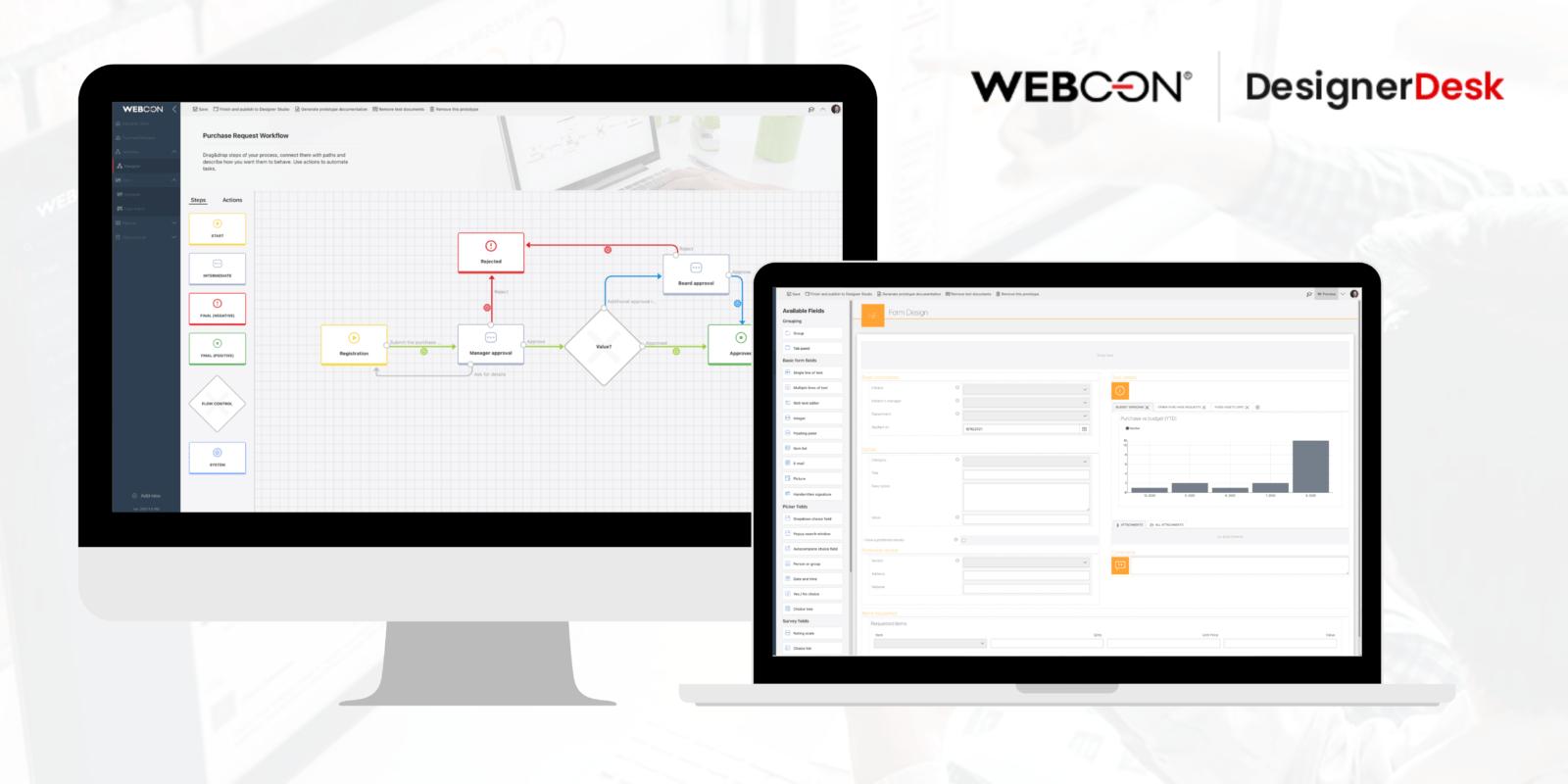 WEBCON udostępnia bezpłatne narzędzie do prototypowania aplikacji biznesowych